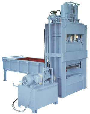 Press-shearing-type cutter (Hydraulic type)