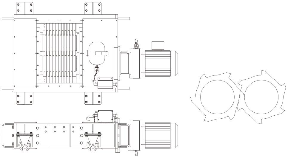 小型破砕機イメージ図