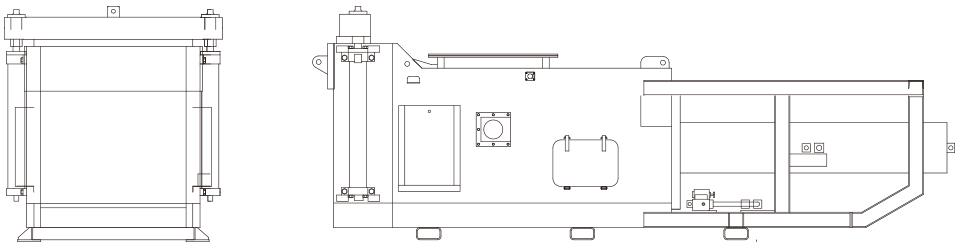 パルパ粕脱水機イメージ図